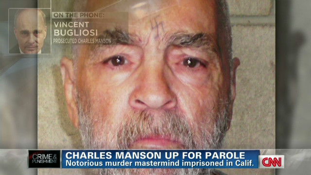Bugliosi: Manson should stay behind bars