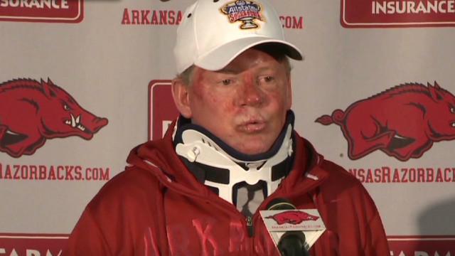 Arkansas fires Bobby Petrino