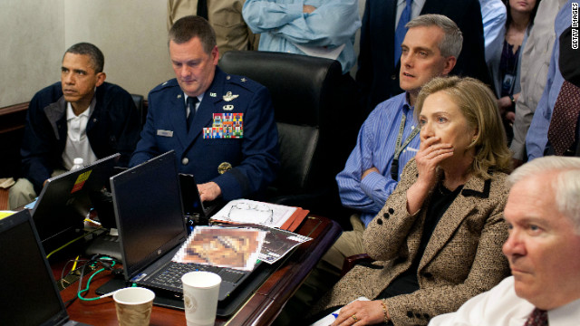 Clinton: Bin Laden raid 'intense'