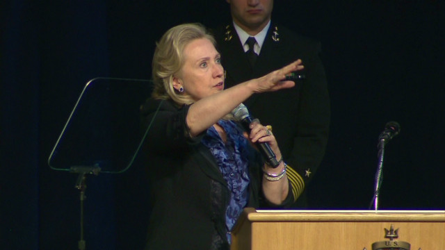 Clinton recounts bin Laden raid