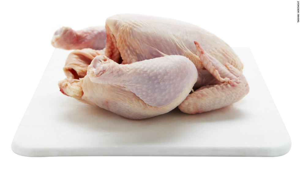 "In 2013, Foster Farms chicken infected 634 people in 29 states with a multidrug-resistant strain of Salmonella, according to the <a href=""http://www.cdc.gov/salmonella/heidelberg-10-13/index.html"" target=""_blank"">CDC</a>. Of the 634 cases, 38% involved hospitalization."