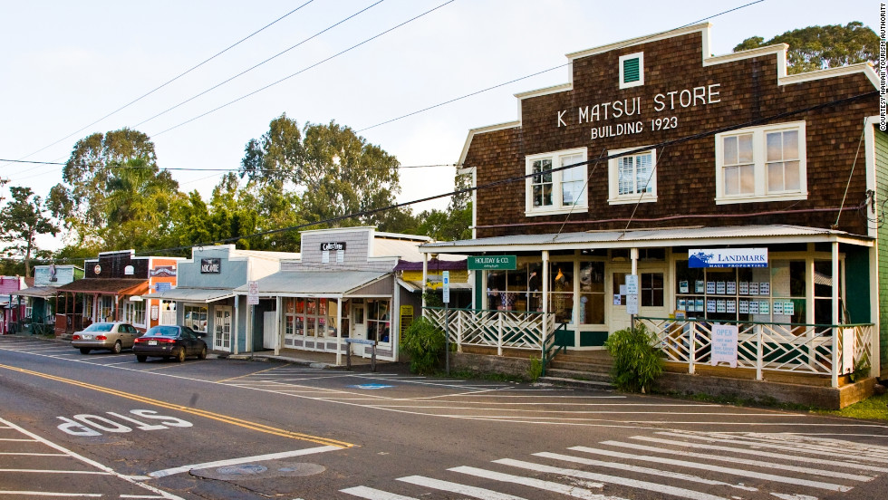 During your visit to Maui, take an afternoon stroll to Makawao, a quiet cowboy town that's now a center for artists.