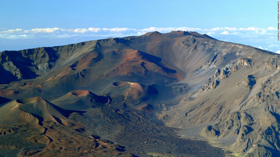 Haleakala National Park offers visitors a taste of the Hawaiian islands' otherworldly landscapes.