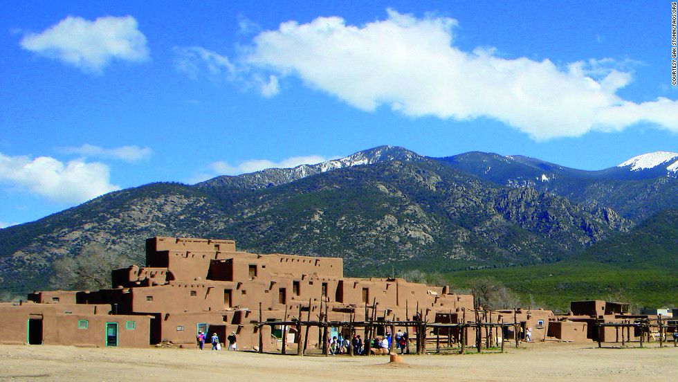 Taos Pueblo has been continuously inhabited by Native Americans for more than 1,000 years.