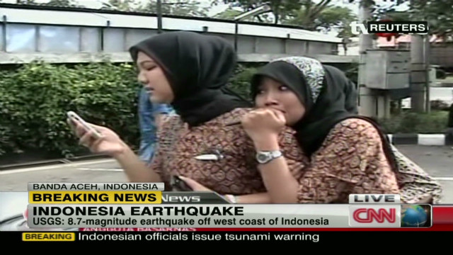 Indonesia rattled by strong earthquake