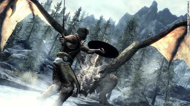 """Dungeons & Dragons"" has inspired such games as ""The Elder Scrolls V: Skyrim."""