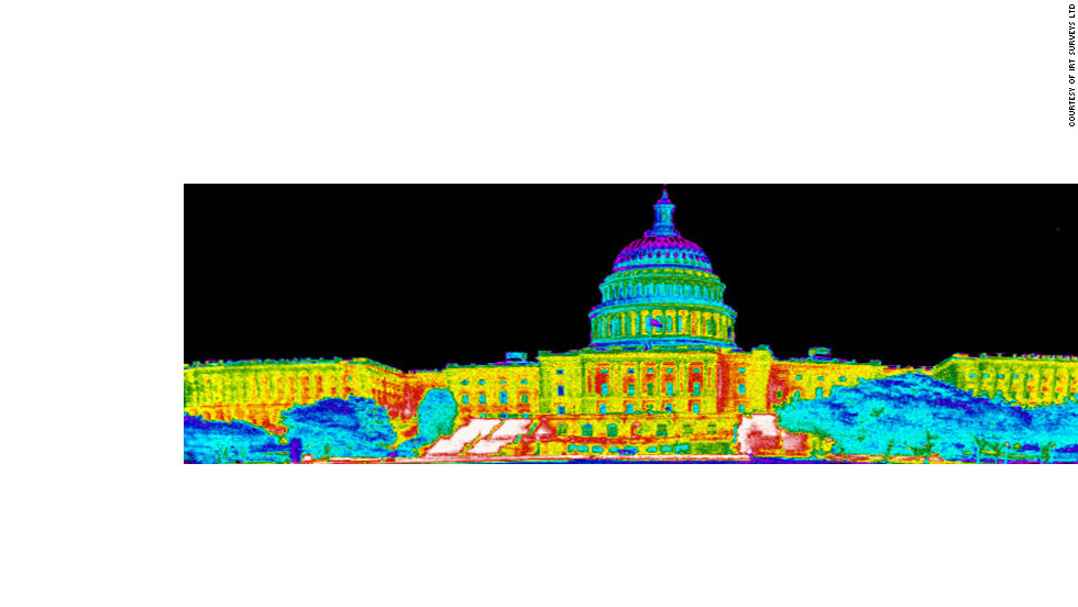 IRT have also turned their thermal imaging equipment on Capitol Hill in Washington, D.C. ...