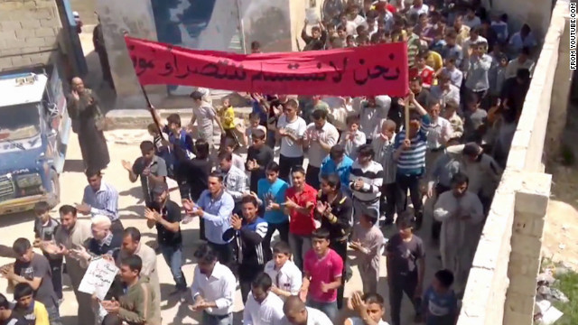 Protests test Syria's 'shaky' cease-fire