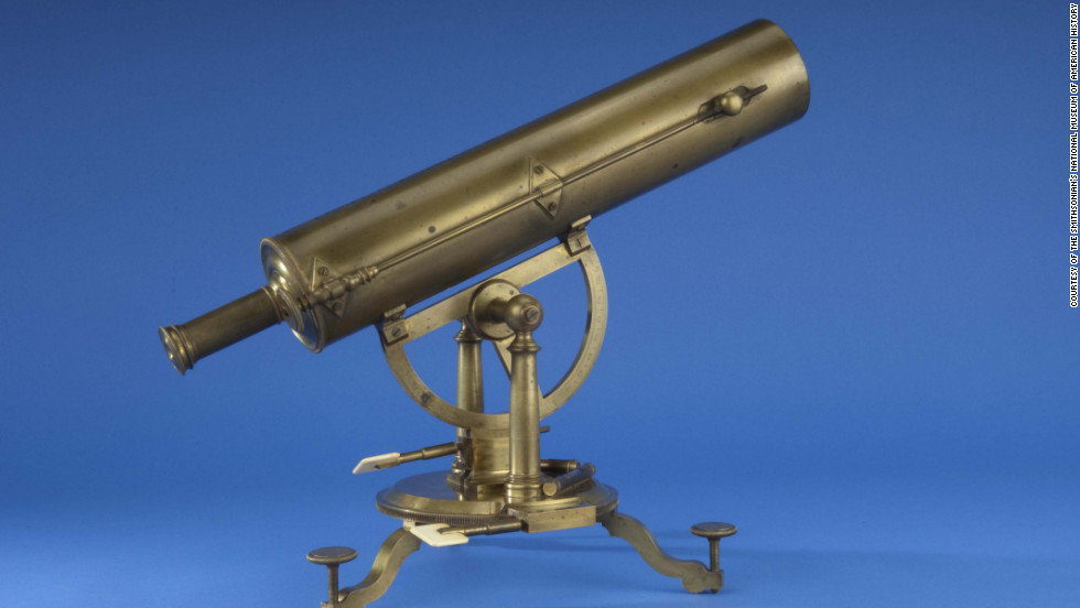 Built by Edward Nairne of London, this telescope was used by Samuel Williams, a minister and professor of astronomy at Harvard College, to study the 1769 transit of Venus across the sun.
