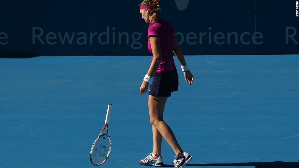 Kvitova was beaten by China's French Open champion Li Na in the semifinals of her next event, the Sydney International.