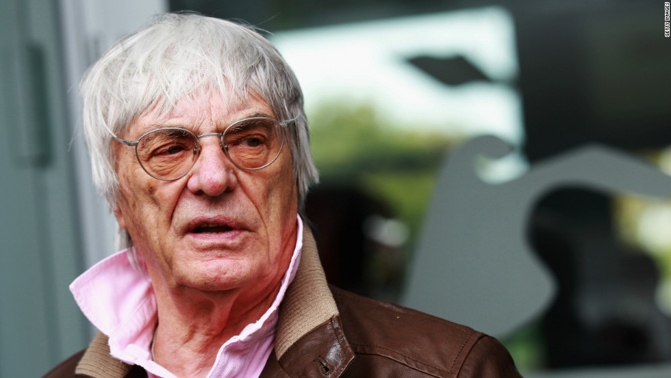 Bernie Ecclestone, the head of Formula One Management, told CNN that sport and politics do not mix after announcing that the Bahrain race would go ahead.