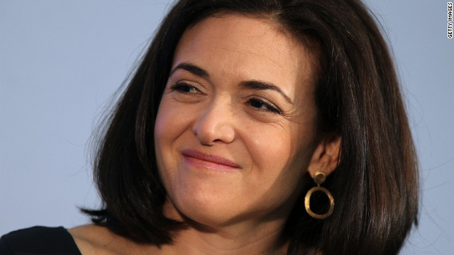 Sandberg challenging women to 'lean in'