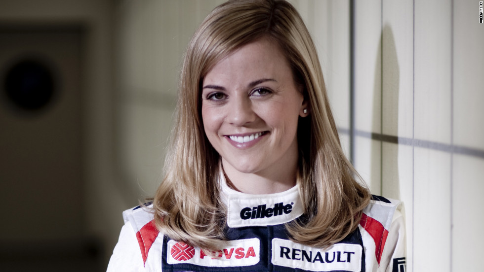 "Wolff signed for the Williams F1 team as a development driver in April 2012.  ""Sometimes in life you just need a chance. Claire and Frank (Williams) gave me that chance,"" she told CNN."