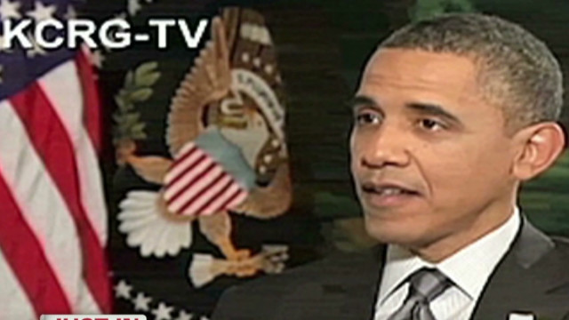 Obama: No patience for spousal attacks