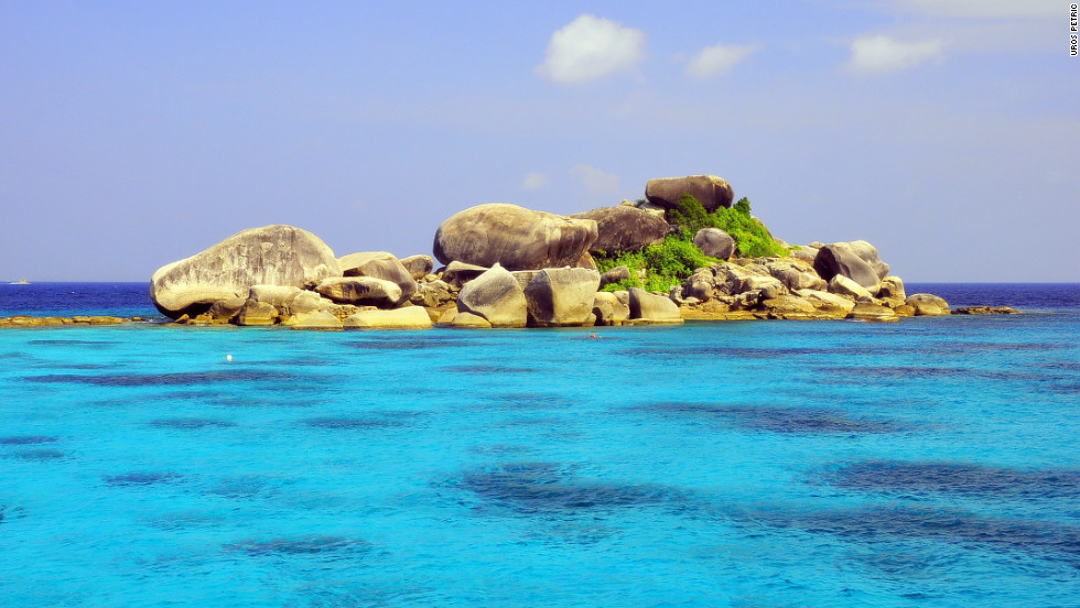 """The Similan Islands, as captured here by photographer <a href=""""http://www.flickr.com/photos/36557347@N00/"""" target=""""_blank"""">Uros Petric</a>, are a group of archipelagos in the Andaman Sea classified as a marine nature reserve by the Thai government."""