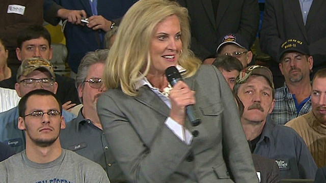 Ann Romney's 'mom power' displayed