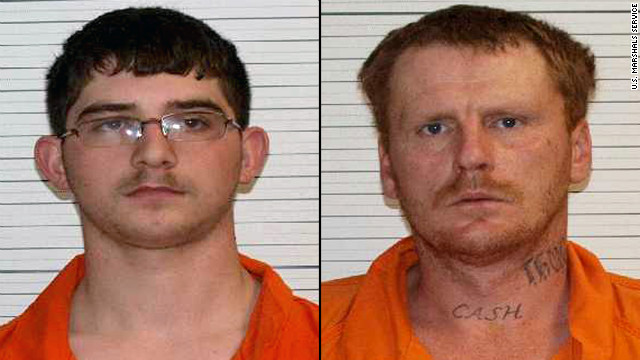 Anthony Ray Jenkins, 20, left, and David Jason Jenkins, 37, were sentenced to 17 years and 30 years, respectively.