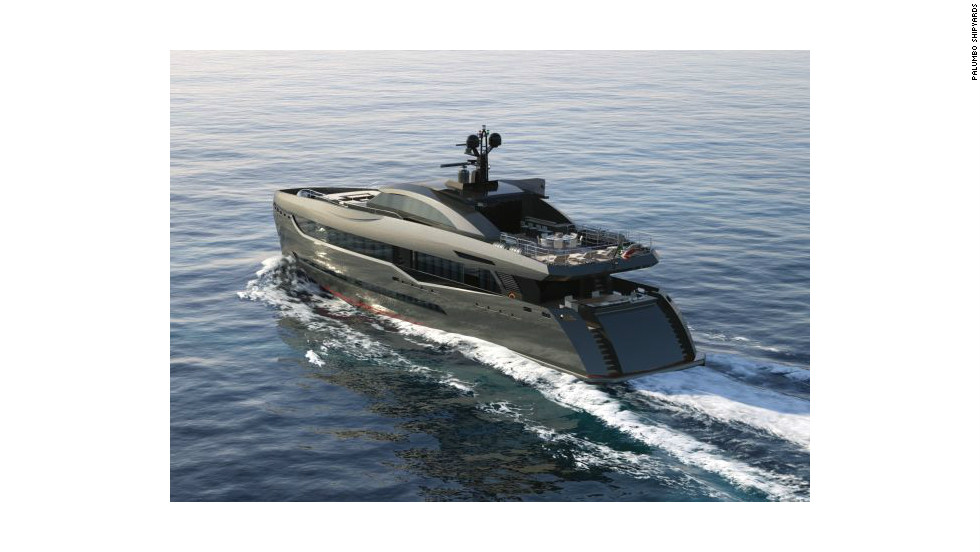 The Columbus Sport 130' Hybrid is powered by twin electrical and diesel engines that reduce emissions as well as running costs.