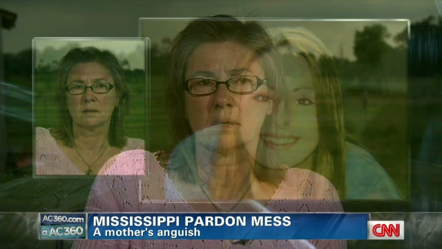 Mother's anguish over Barbour's pardons