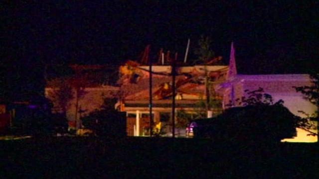 Powerful storm hits Iowa hospital