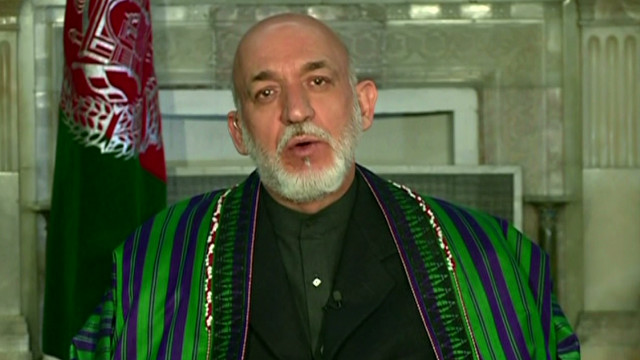 Karzai  'blessed' with night raid deal