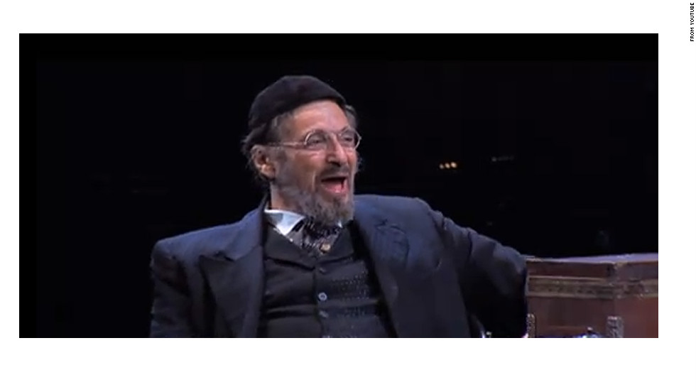 "Al Pacino took the stage in 2010 in ""The Merchant of Venice"" on Broadway. Pacino first played Shylock in the 2004 film adaptation of Shakespeare's play."
