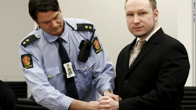 Norway massacre suspect's trial begins