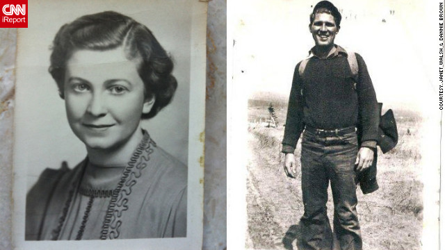 Dannie Brown and Jannet Walsh used census records to learn about relatives like Margaret Walsh, left, and Uncle John Brown.