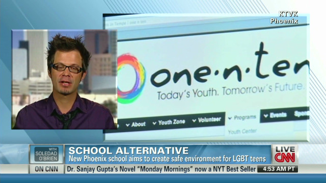 Micheal Weakley on LGBTQ teens