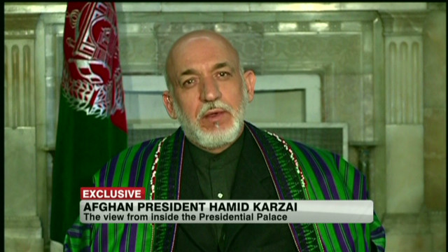 Hamid Karzai exclusive: Part 1