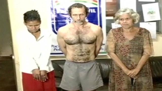 Three Brazilians suspected of cannibalism