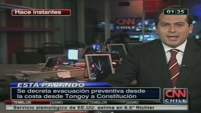 TV anchor feels earthquake on air