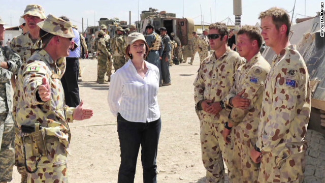 Australia looks to leave Afghanistan