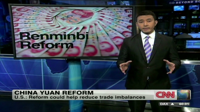 China's renminbi reform
