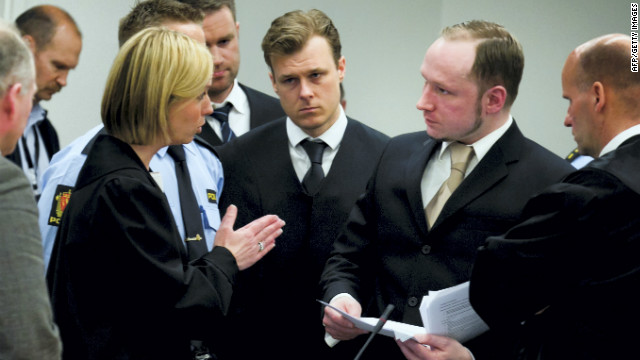 Prosecution concerned with Breivik sanity