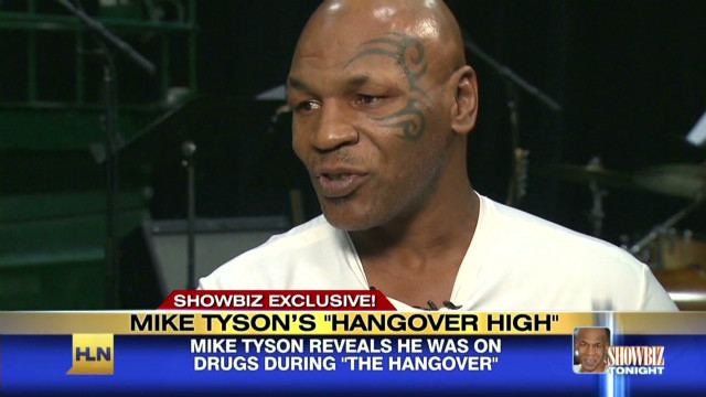 Mike Tyson: High on 'Hangover' set