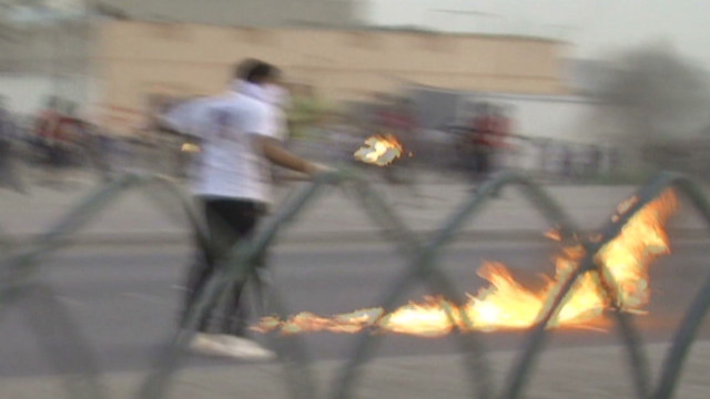 Violent clashes ahead of Grand Prix F1
