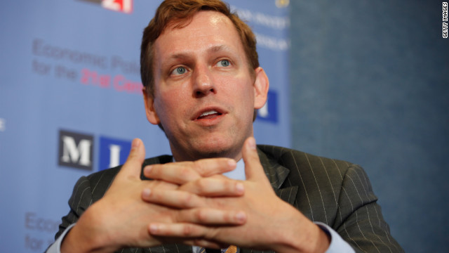 Peter Thiel believes that some of the brightest students may be better off not going to college.