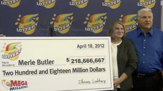 Retired couple win Mega Millions