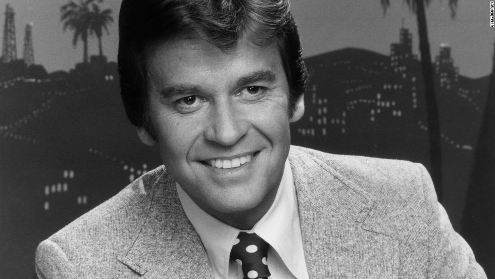 "Clark  on the set of his NBC television series, ""Dick Clark's Live Wednesday,"" in 1978."