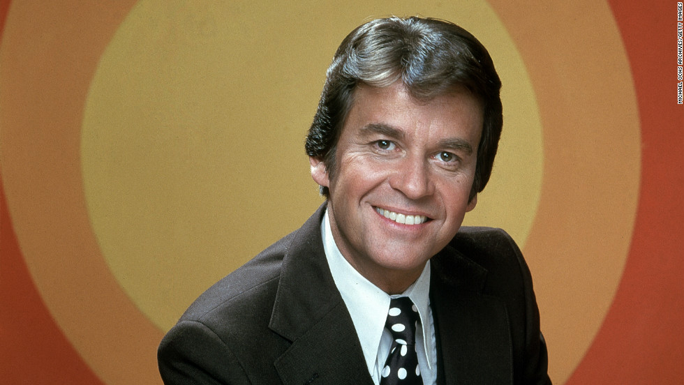 "Television host <a href=""http://www.cnn.com/2012/04/18/showbiz/dick-clark-obit/index.html"" target=""_blank"">Dick Clark</a> poses for a portrait circa 1968. The longtime host of the influential ""American Bandstand"" died April 18 after suffering a heart attack. He was 82."