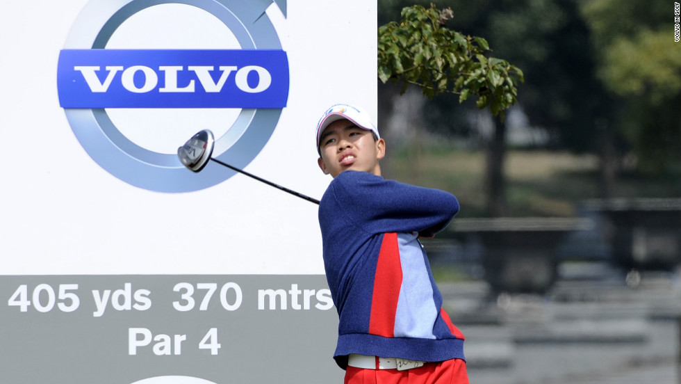 Chinese amateur Guan Tianlang made history in 2013 when he became the youngest to play in the Masters at age 14.