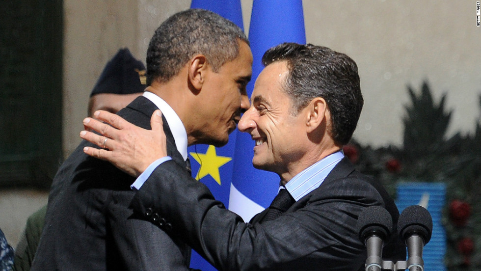 """A rational and aloof"" U.S. President Obama has kept French counterpart Nicolas Sarkozy's ""love-fest"" at bay, according to Philippe Coste."