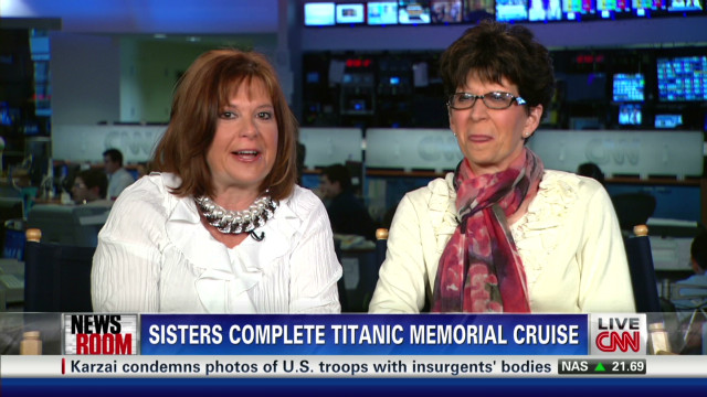 Sisters complete Titanic memorial cruise