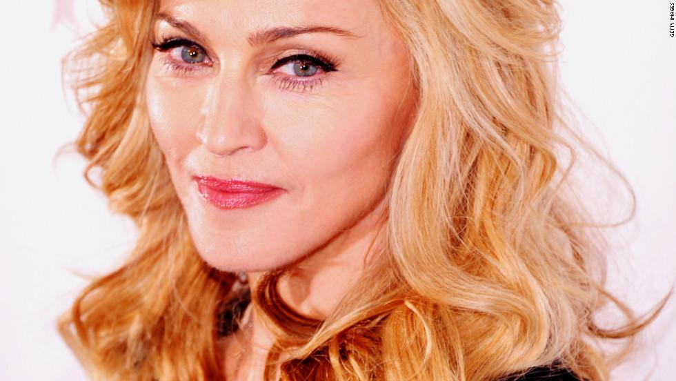 It's Madonna!