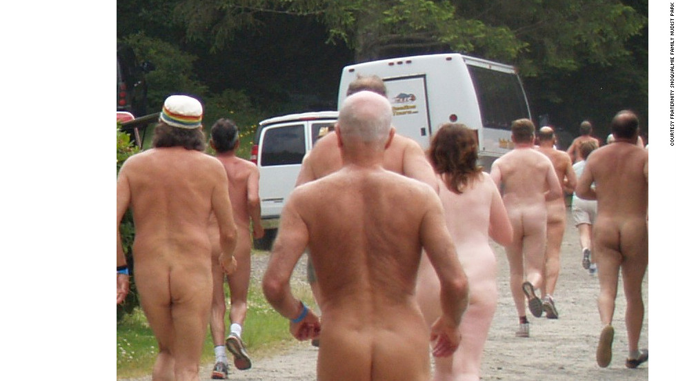"If it isn't obvious from the name, or the photo, the <a href=""http://www.fraternitysnoqualmie.com/BBFR.html "" target=""_blank"">Bare Buns Fun Run</a> is sponsored by a nudist group -- specifically the Fraternity Snoqualmie Family Nudist Park in Issaquah, Washington. Runners are welcome every July to participate with or without clothes, or simply ogle from the sidelines. After completing the 5K, participants can skinny-dip in the heated pool while waiting for the results."