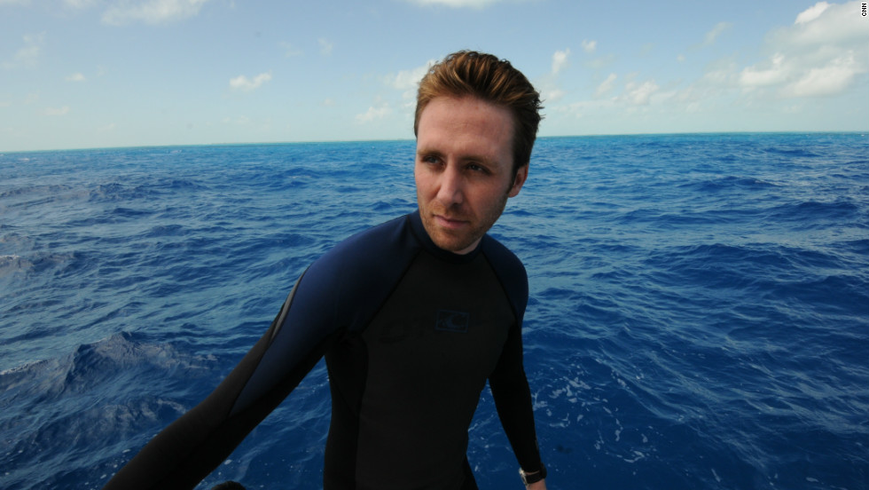 Cousteau is urging people to take a step back and ponder what a healthy ocean provides: half the world's oxygen, protein for an estimated one billion people as well as regulating our climate.