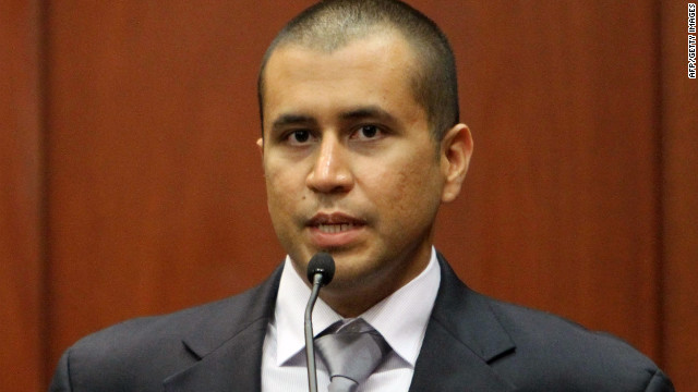 George Zimmerman speaks Friday during his bond hearing for the shooting death of Trayvon Martin in Sanford, Florida.