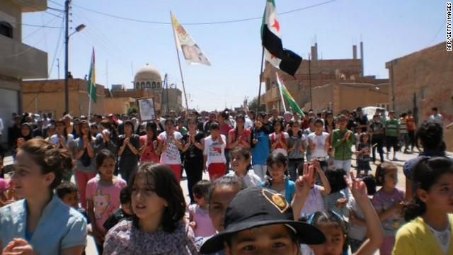 Day of defiance in Syria