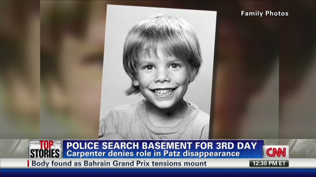 Police searching basement for Etan Patz
